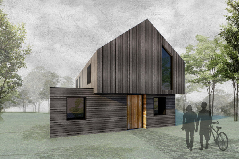 NEWS – New build eco-house gets planning approval