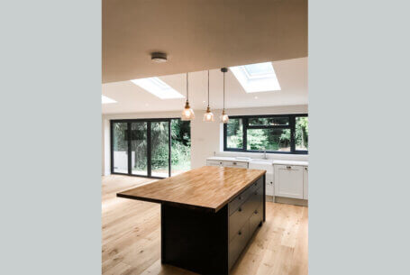 Extension and renovation, West Sussex