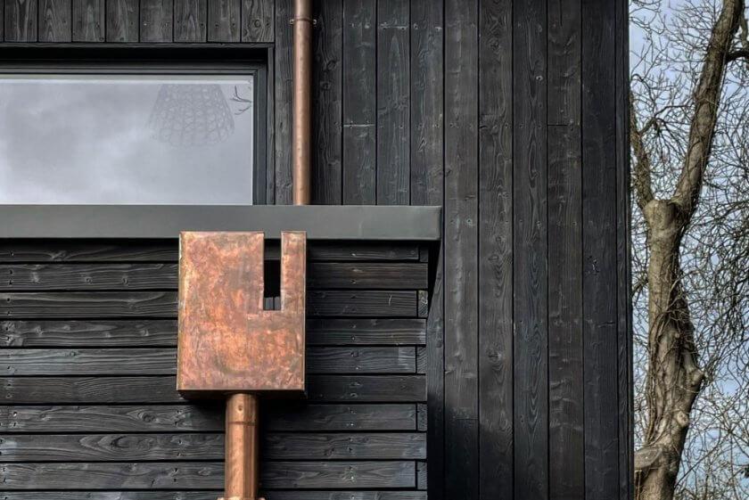 Black Timber House, Copper Hopper